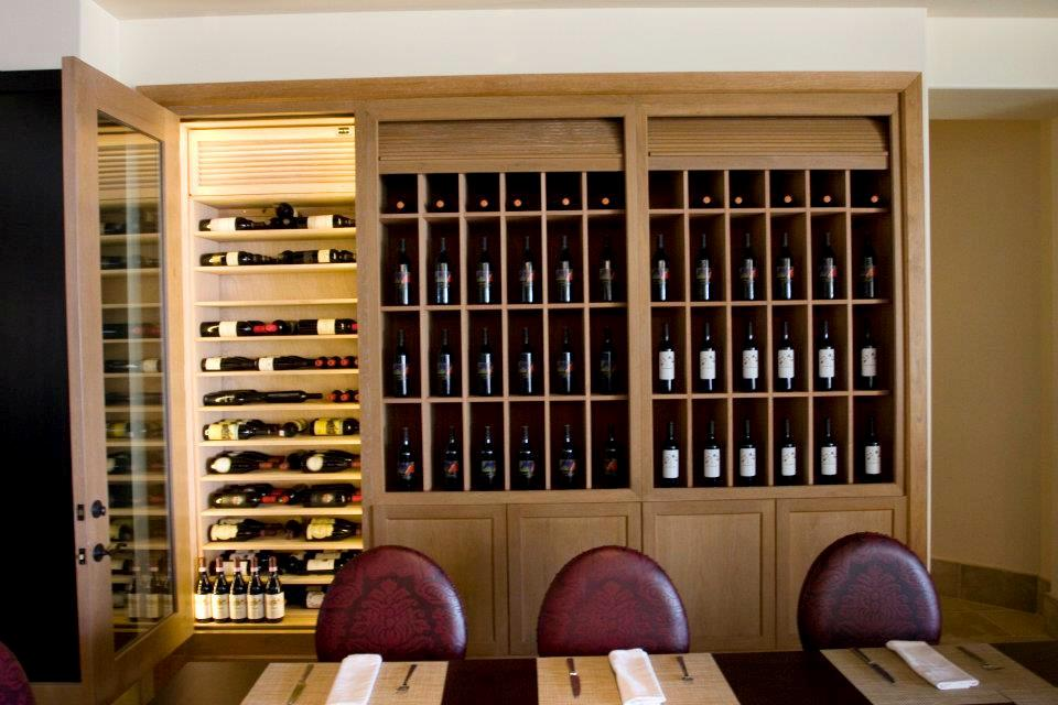 Elegant Custom Home Wine Cellar Design
