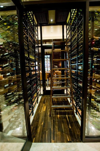 Modern Home Wine Cellar