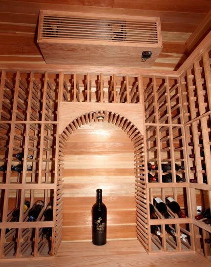 Refrigerated Custom Wine Cellar