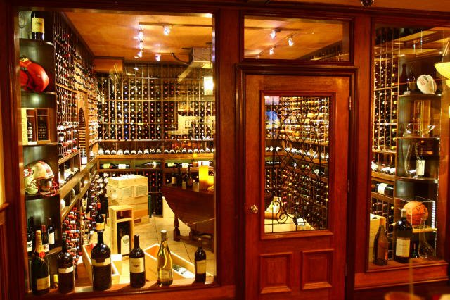 Stunning Home Wine Cellar with Equipped with an Efficient Refrigeration System