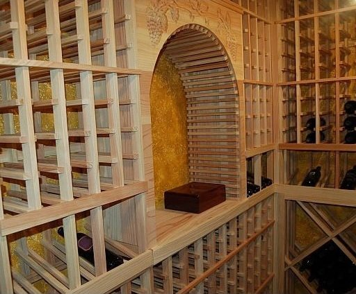 Wine Cellar Equipped by an Efficient Cooling System
