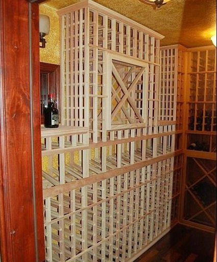 Wine Cellar Equipped with an Efficient Cooling Unit