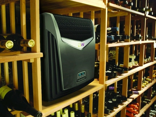 Wine Guardian Cooling Unit Installation Project by Master Builders