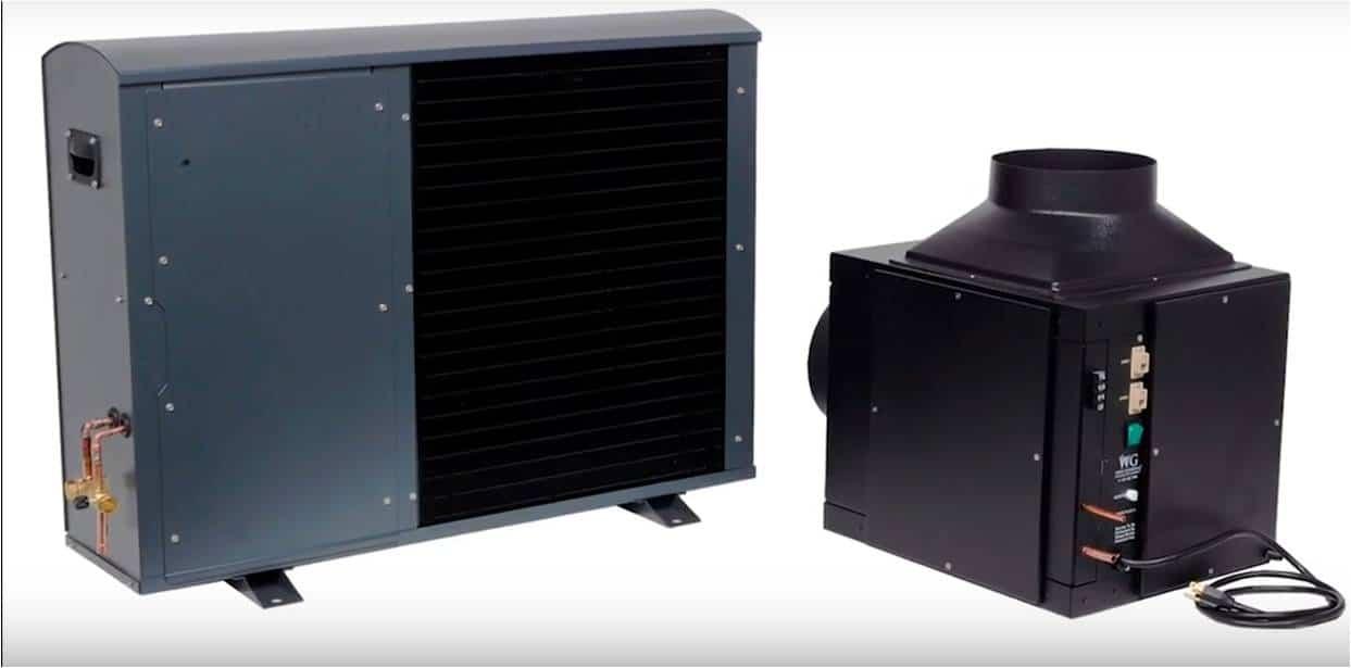 Room Cooling Units : Split system wine cellar cooling units