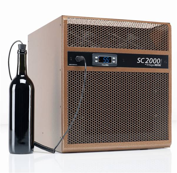WhisperKOOL Self-Contained Wine Cellar Cooling Unit