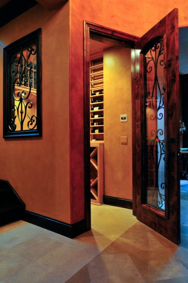 Expertly Built Refrigerated Home Wine Cellar