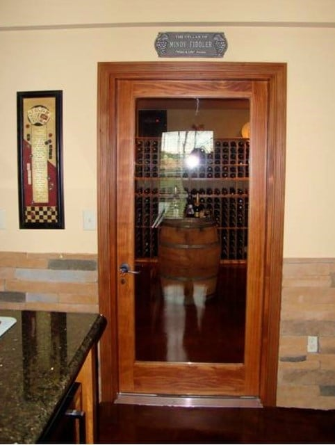 Barolo Style Custom Wine Cellar Door