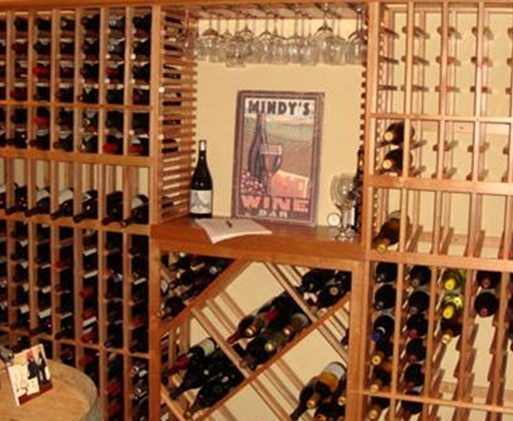 Custom Wine Cellar Racks by Coastal Custom Wine Cellars California